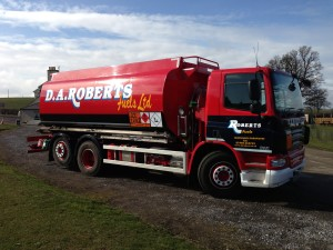 Oil Tanker Lorry
